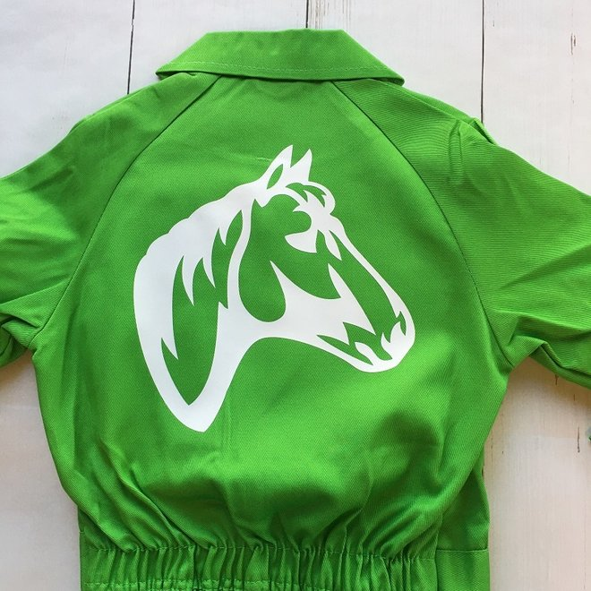 Children's overall   Horses head