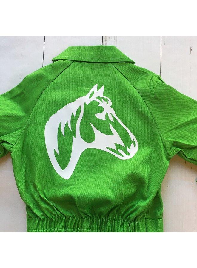 Kinderoverall| Paarden hoofd