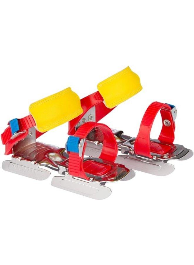 Kinder glij-ijzers verstelbaar maat 24 - 34