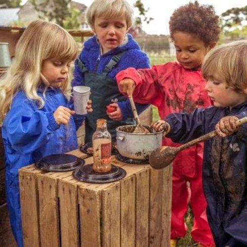 Buitenkleding voor kinderopvang en scholen
