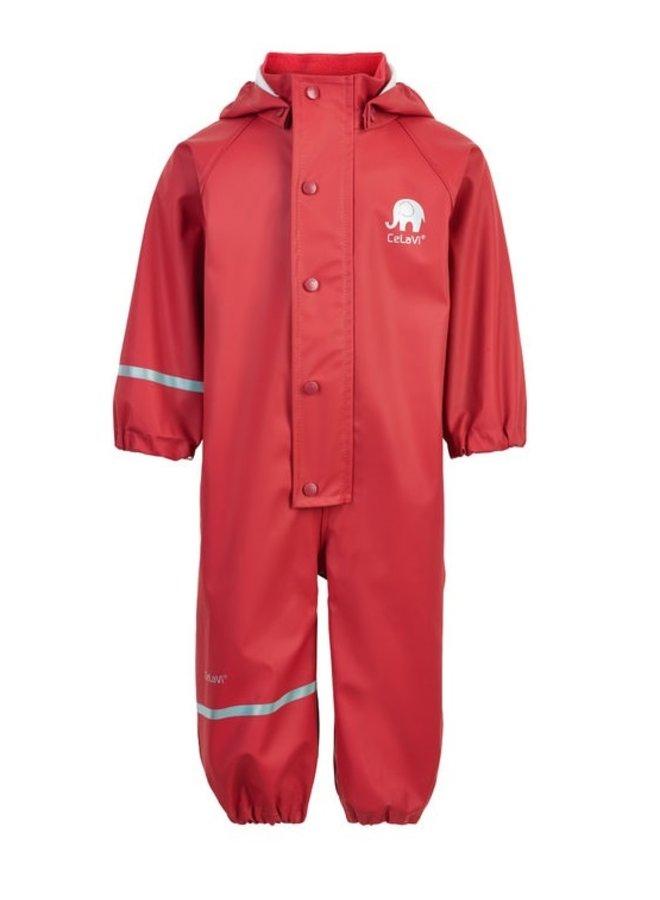 Children's rainsuit in one piece | orange / red | 70-110
