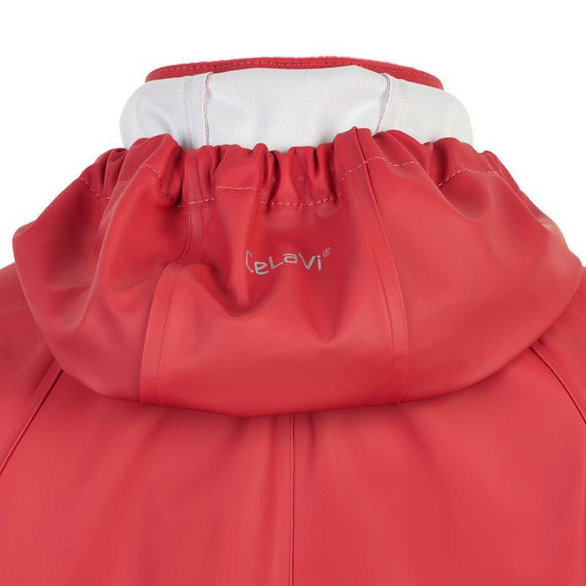 One-piece children's rainsuit | orange / red | 70-110