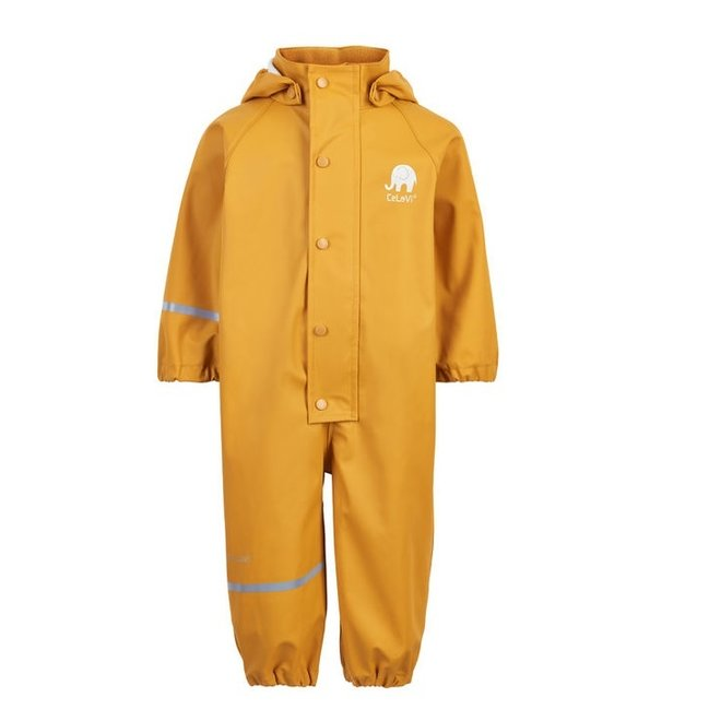Kinder regenoverall | Mineral Yellow| 70-110