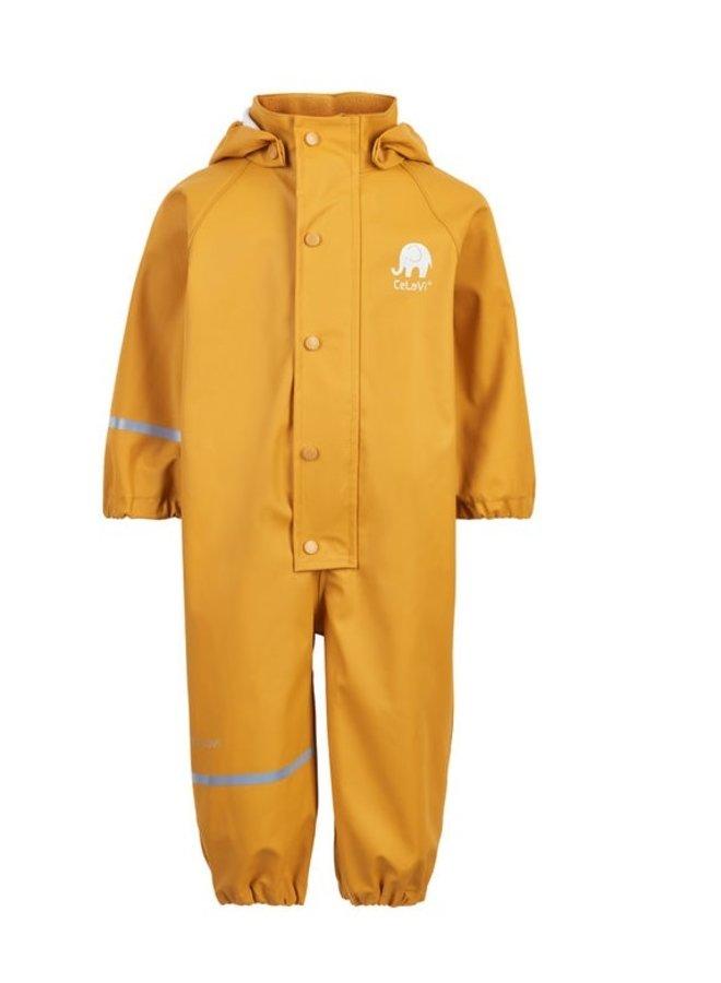 Yellow children's rain overall 70-110