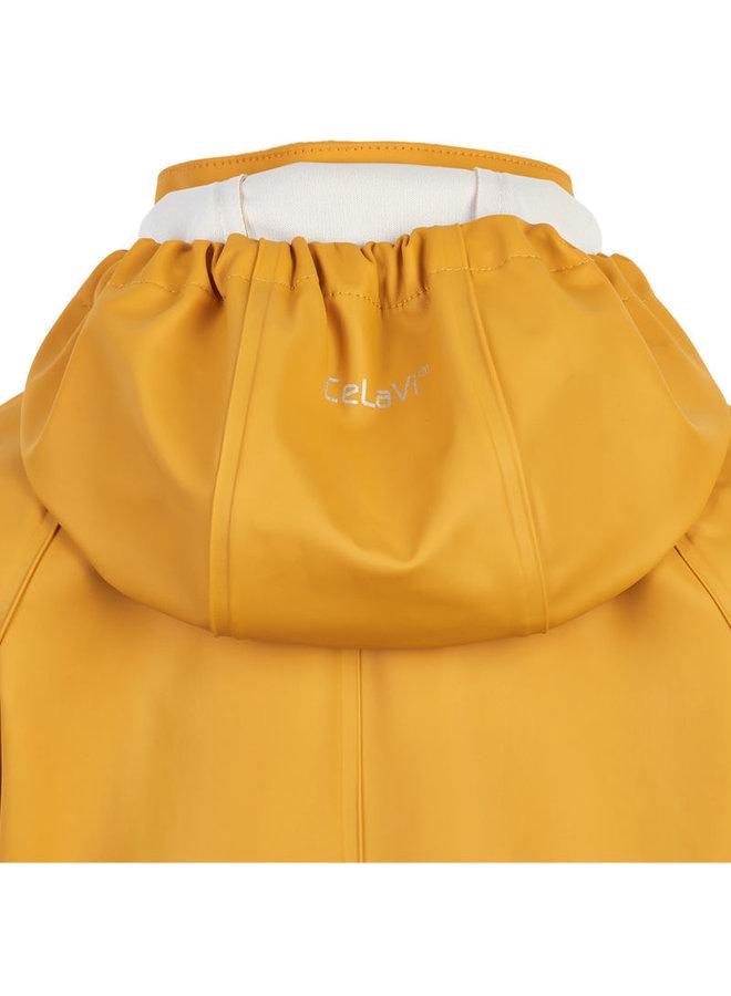 One-piece children's rain suit   Mineral Yellow   70-110