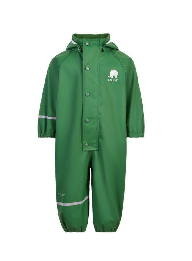 One-piece children's rain suit   Elm Green   70-110