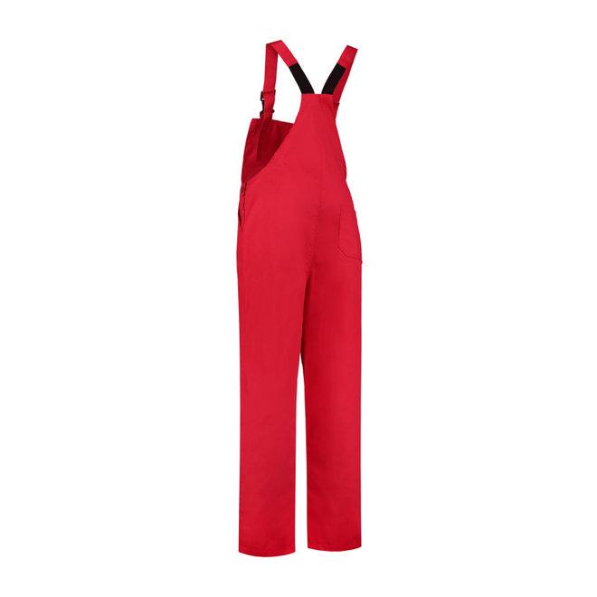 Tuinbroek M/V in rood | unisex model