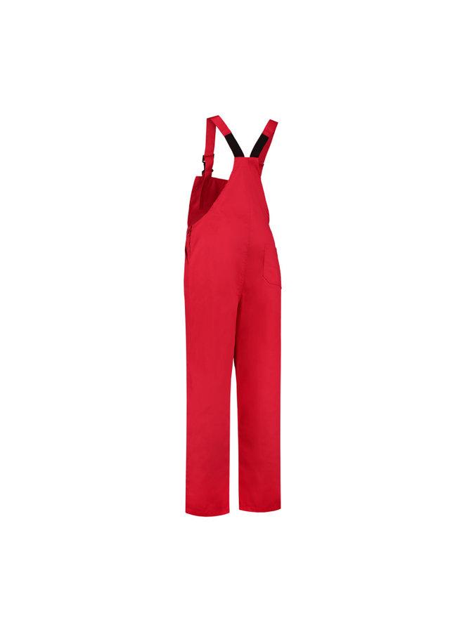 Tuinbroek M/V in rood