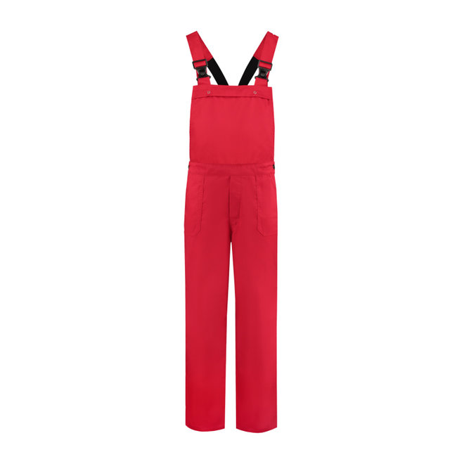 Red dungarees | adults