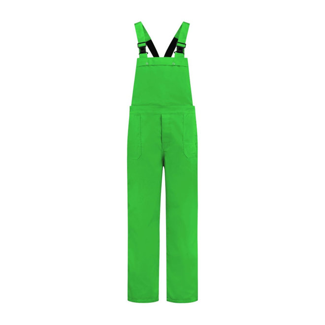 Lime green dungarees | unisex model | m / f