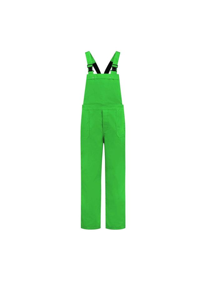 Tuinbroek | volwassenen | lime groen