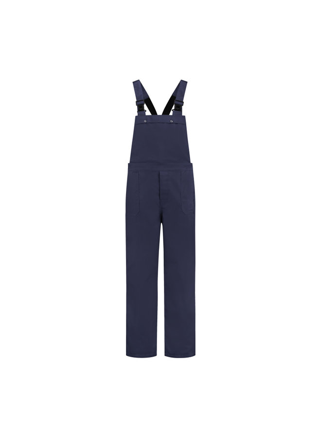 Navy dungarees for men and women