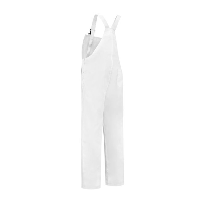 White dungarees M / V for garden and carnival