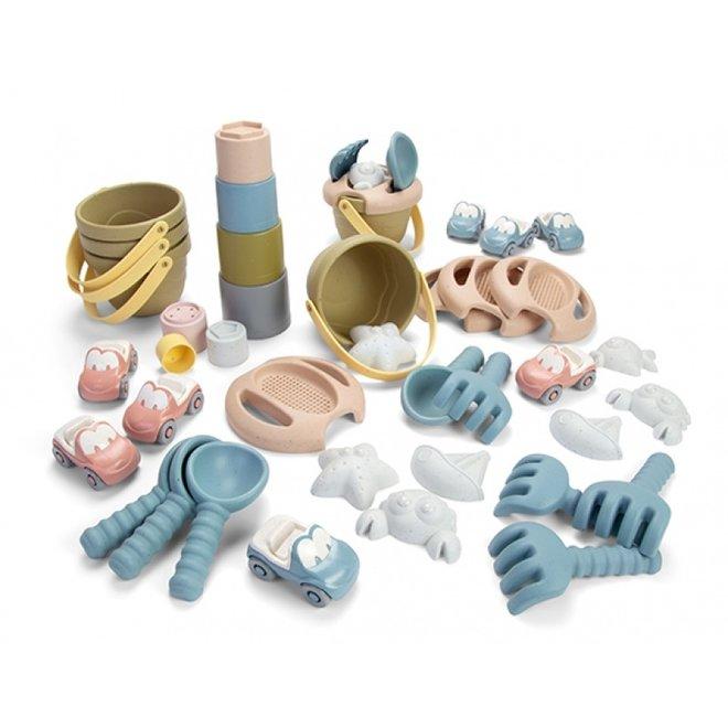 Sandbox play set made from bio plastic
