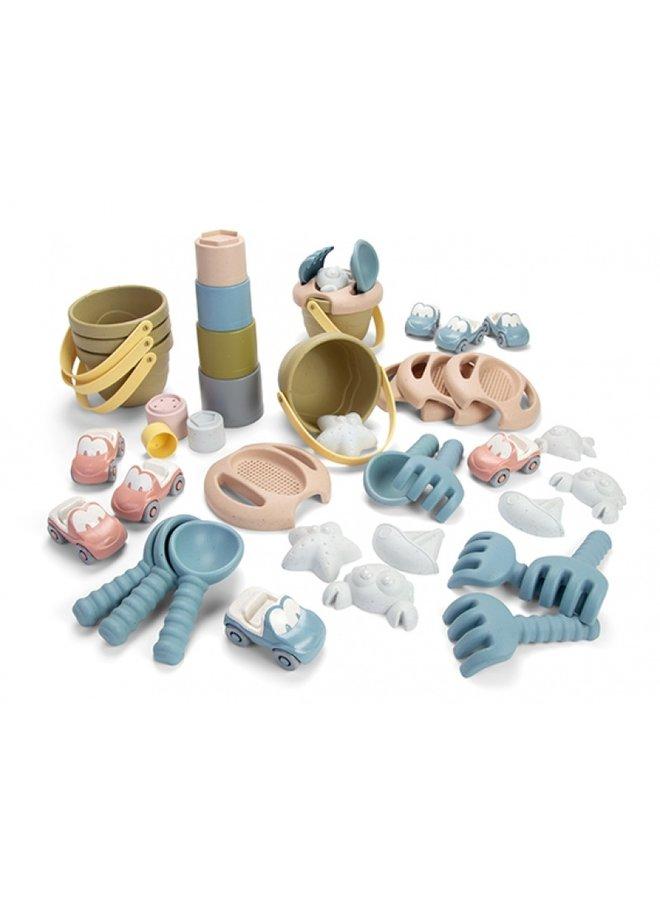 Bio plastic speelset