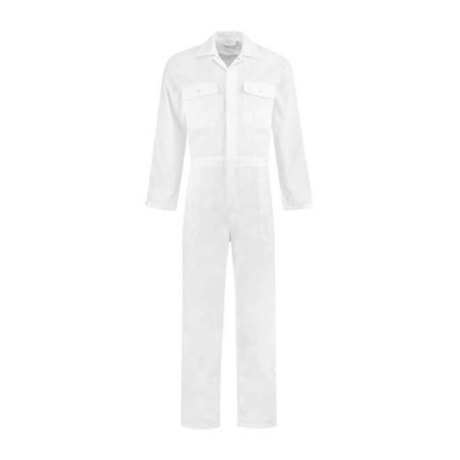 Witte kinder overall