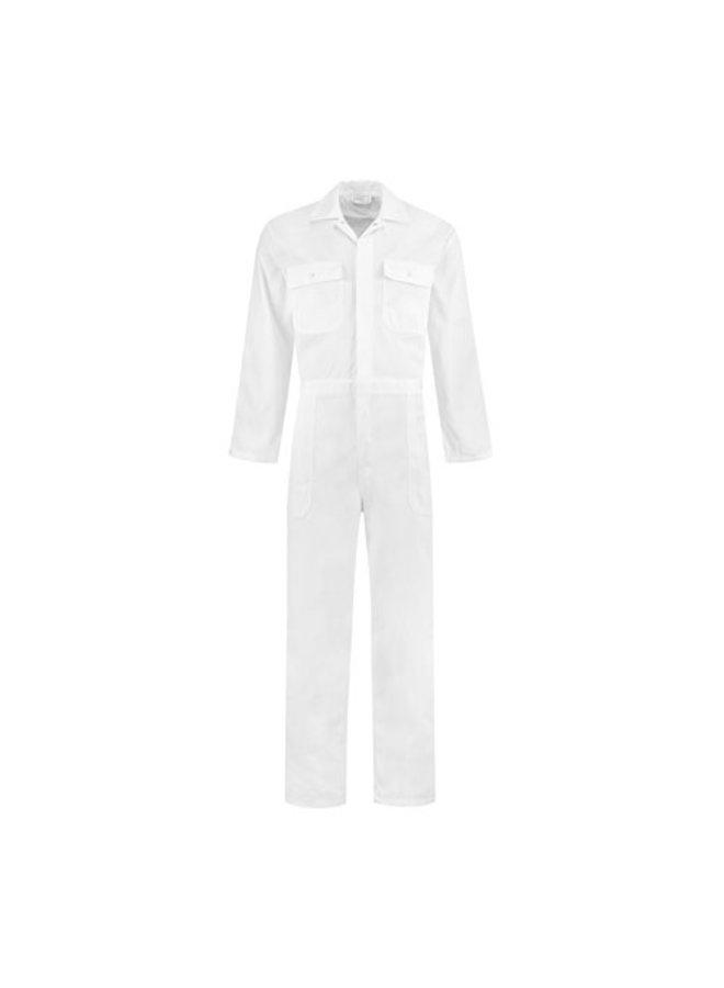 White kids overalls