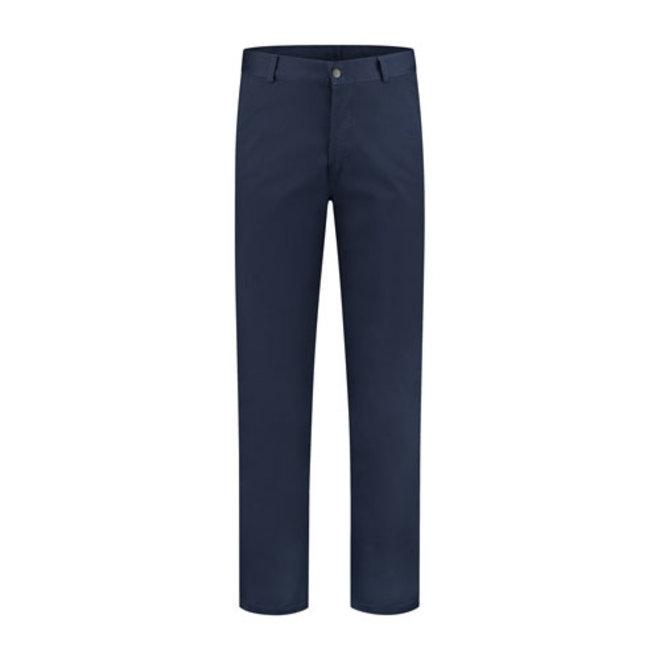 Blue work pants, worker 260gr / m2 poyester cotton in navy