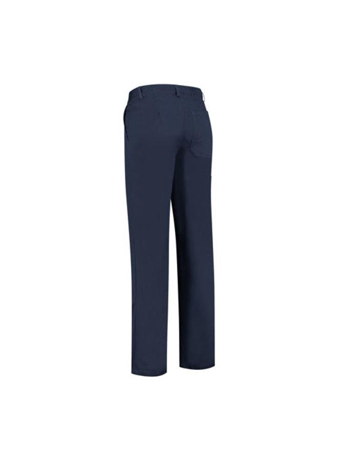 Basic blauwe werkbroek , worker 260gr/m2 poyester katoen inavy