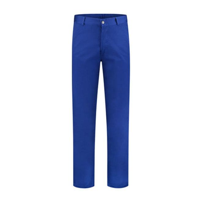 Blue work pants, worker 260gr / m2 poyester cotton in blue