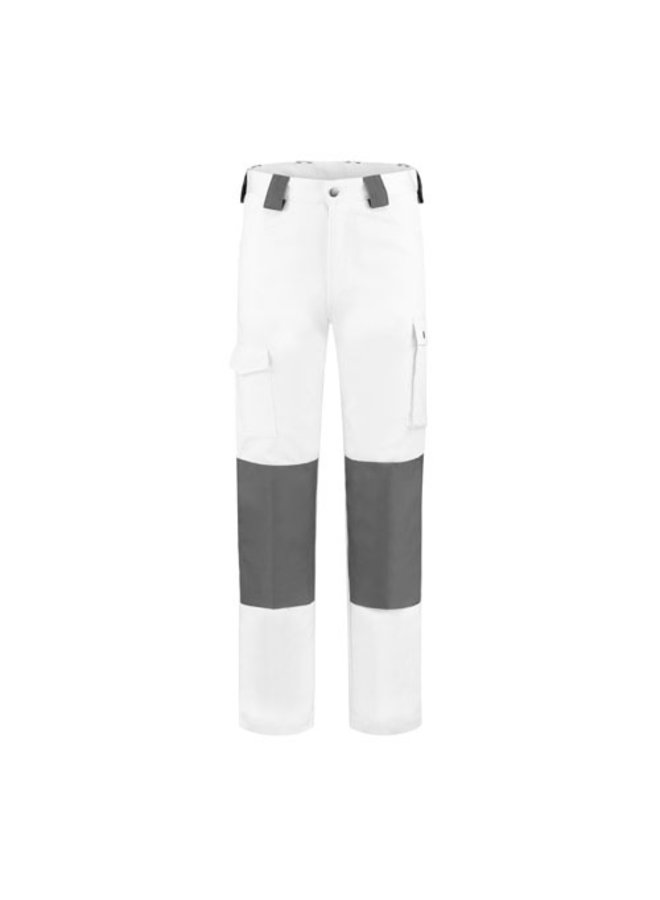 Worker, witte werkbroek katoen-polyester