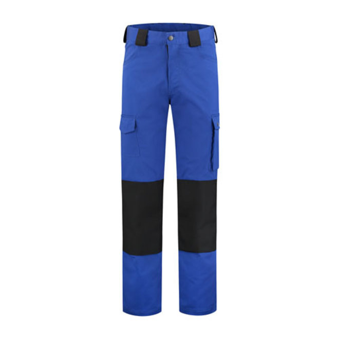 Work trousers with knee pad pockets | Cornflower blue