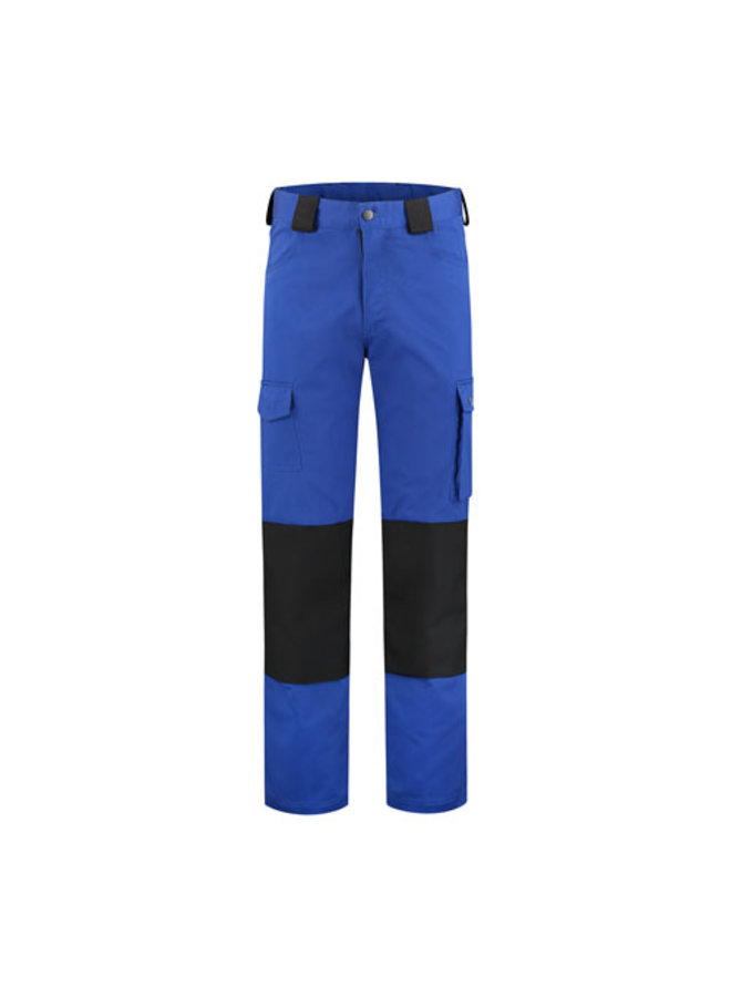 Worker, work pants cotton-polyester blue/black