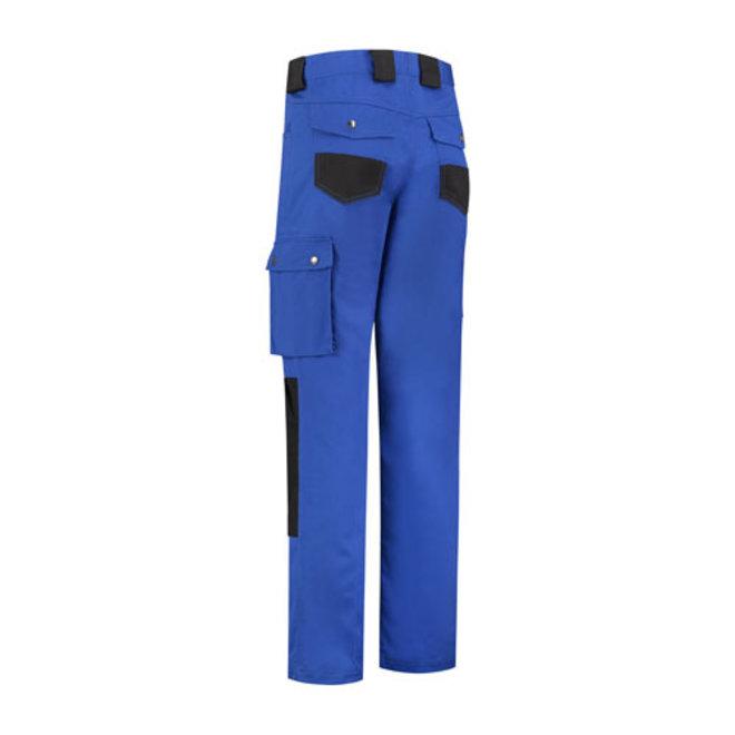 Werkbroek, worker | met kniestukken | korenblauw