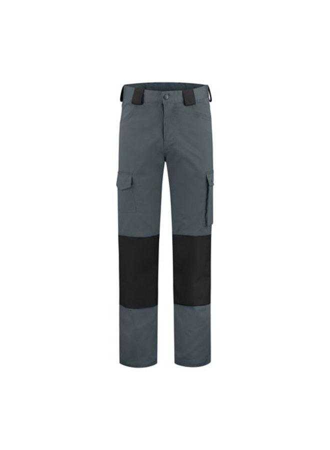 Worker, work pants cotton-polyester grey/black
