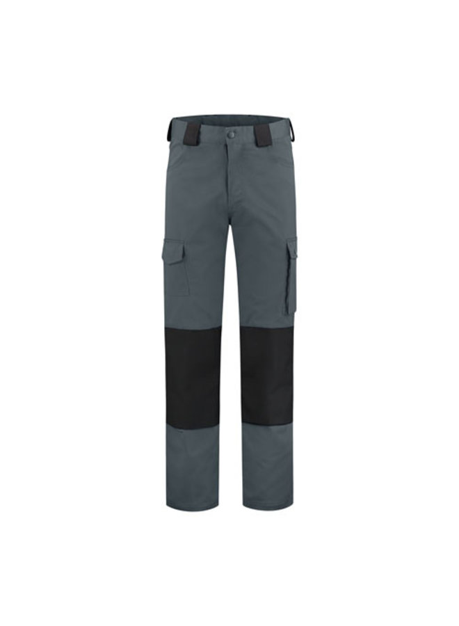 Worker, work pants cotton- grey/black