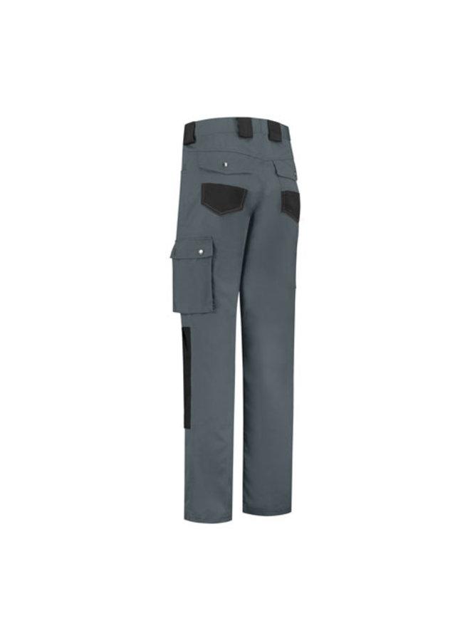 Worker, werkbroek katoen-polyester- grijs/zwart