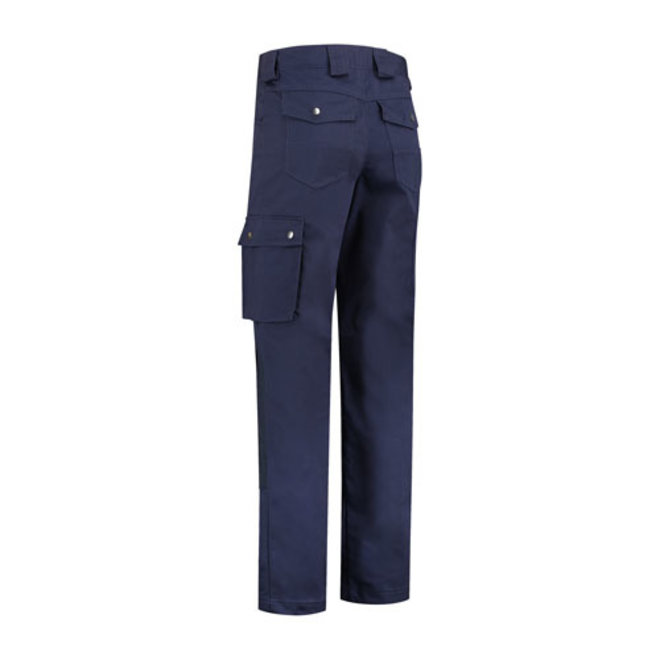 Werkbroek, worker   met kniestukken   donkerblauw