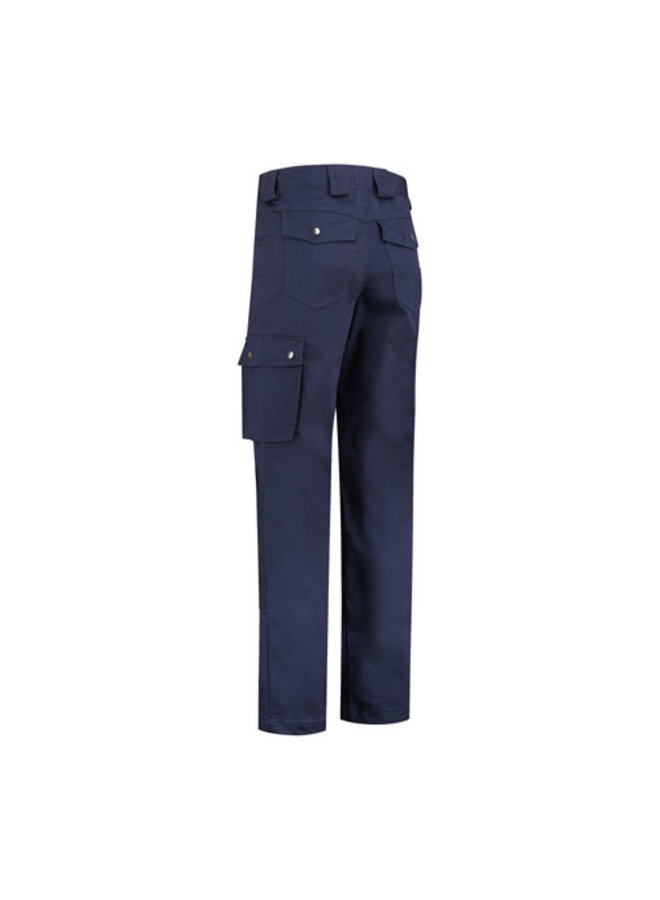Worker, work pants cotton-polyester navy blue