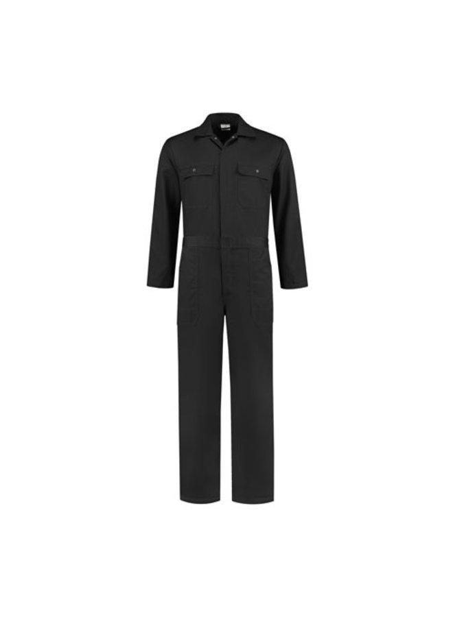 Zwarte overall voor dames en heren