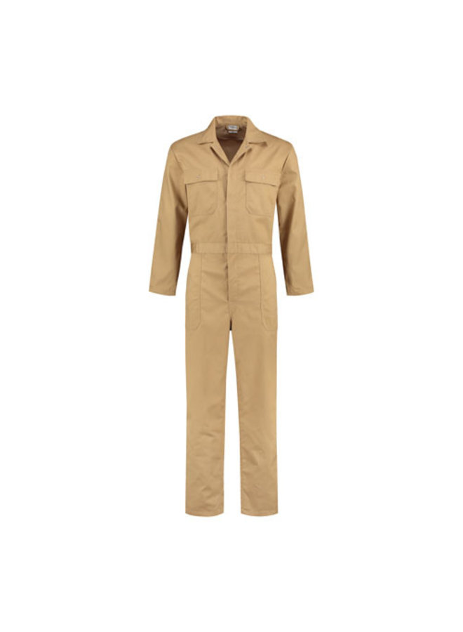 Sand color, khaki overall for women and men