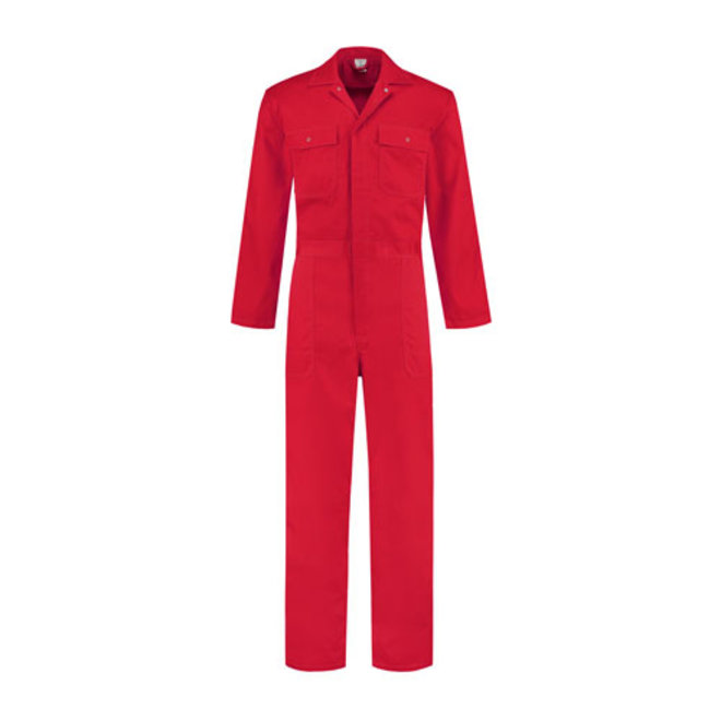 Red overall for women and men