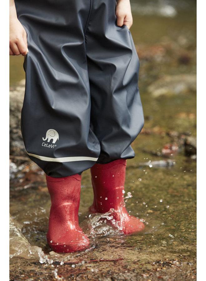 Natuur rubberen regenlaarsjes  maat 19-35