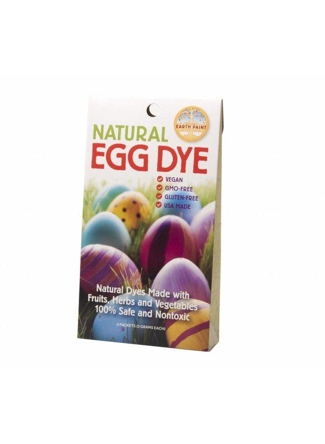 Organic egg paint