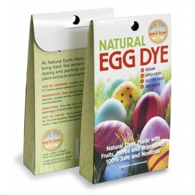 Natural egg paint Earthpaint