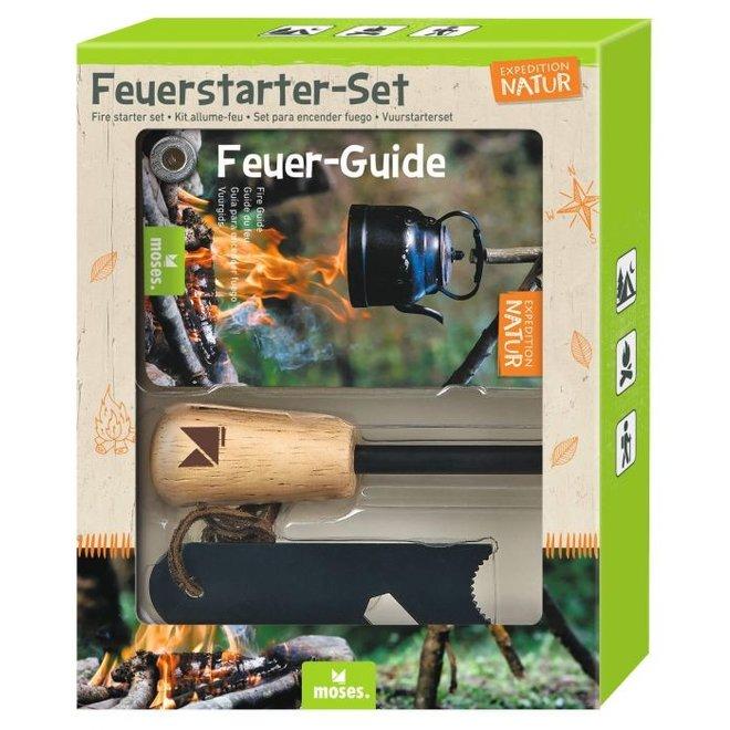 Fire starter set for children