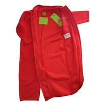 thumb-Fleece pak onesie, jumpsuit rood| 68-104-3