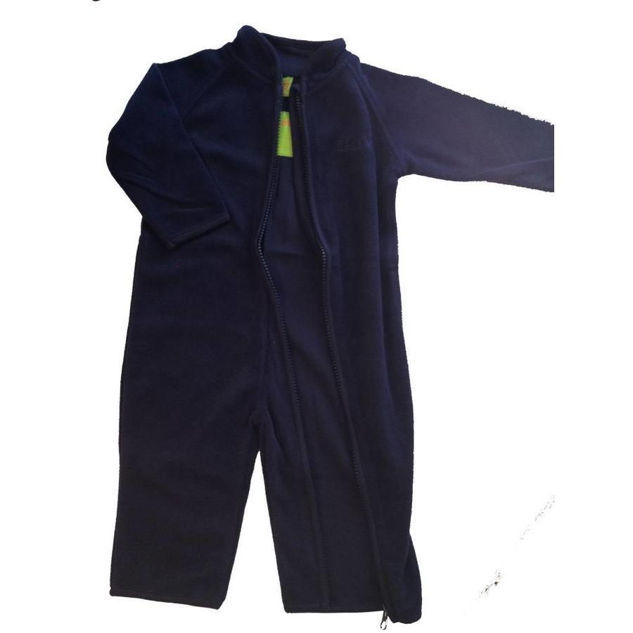 Fleece suit navy blue overalls-3