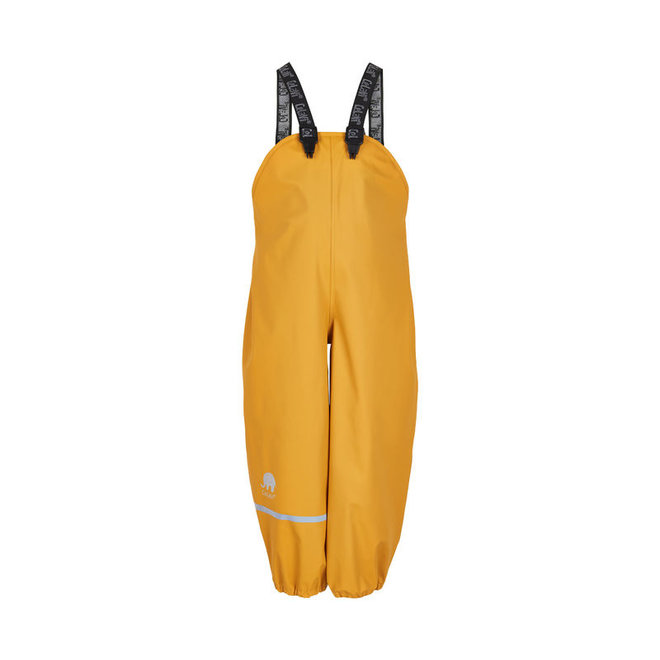 Children's rain pants with suspenders | 70-100 | Mineral yellow