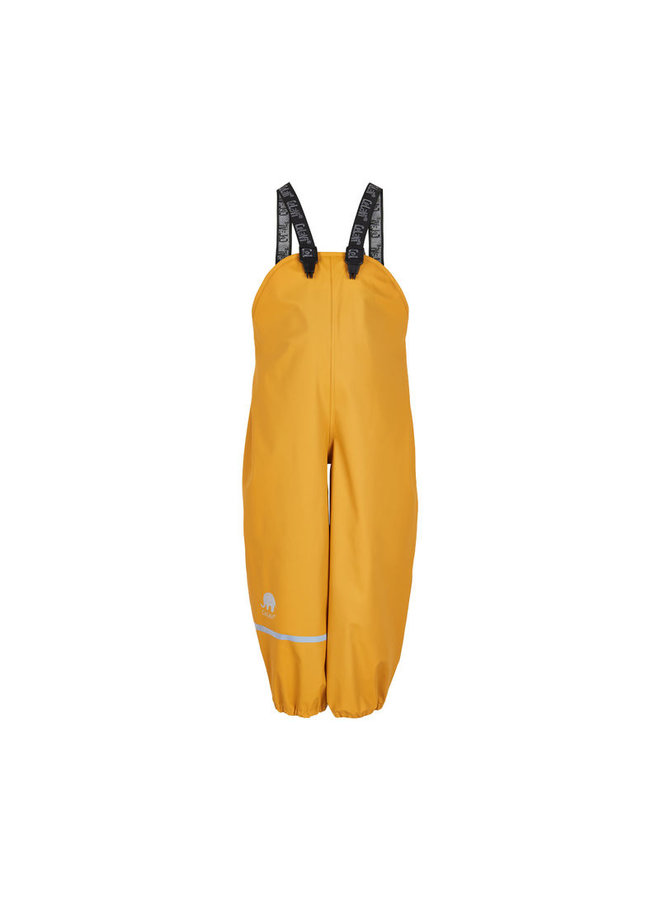 Yellow rain trousers with suspenders 70-100 - Copy