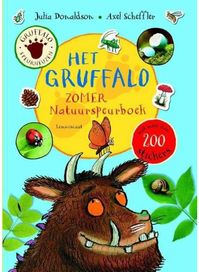 Gruffalo - Nature Research Book Summer edition