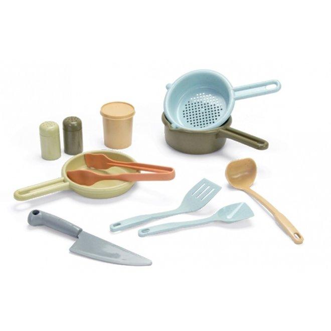 Bioplastic speelgoed keukenset voor kinderen