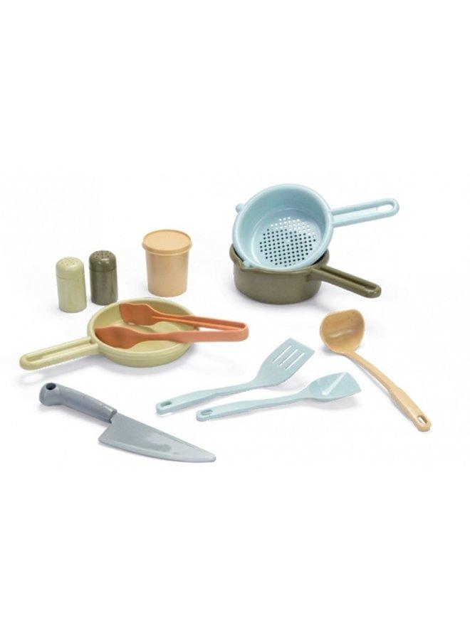 Bioplastic toy kitchen set for children