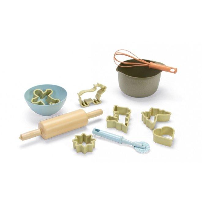 Bioplastic toy baking set for children