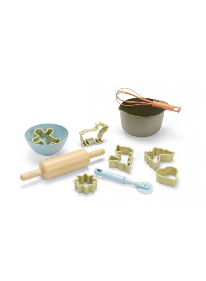 Bioplastic speelgoed bakset voor kinderen