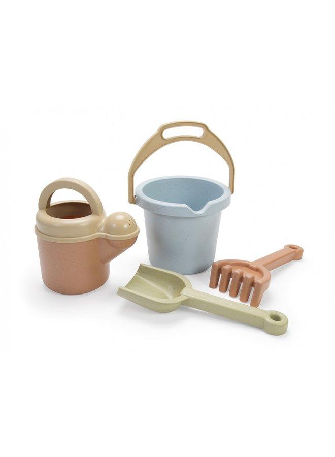 Bioplastic zandbakset voor kinderen